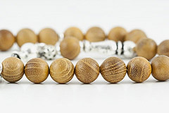 African Teakwood Prayer Beads