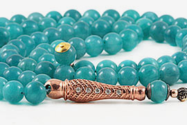 Amazonite Prayer Beads
