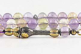 Ametrine Prayer Beads