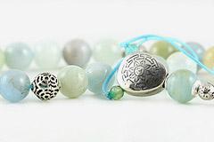 Aquamarine Worry Beads