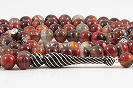 Banded Agate Prayer Beads (99 Beads)