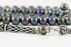 Black Pearl Prayer Beads (99 Beads)