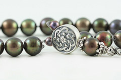 Black Pearl Worry Beads