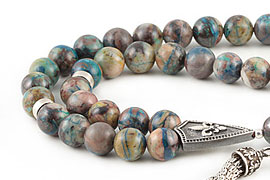 Chrysocolla Prayer Beads
