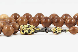 Coca Wood Prayer Beads