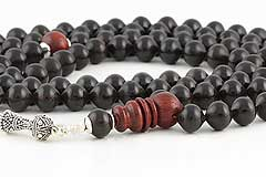 Ebony Tree Mala
