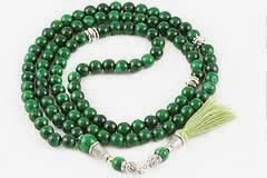 Green Tiger's Eye Mala