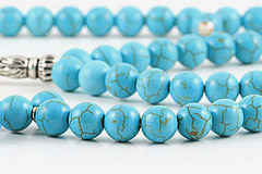 Howlite Turquoise Prayer Beads (99 Beads)