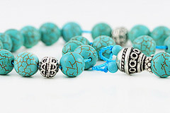 Howlite Turquoise Worry Beads