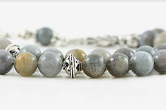 Labradorite Prayer Beads