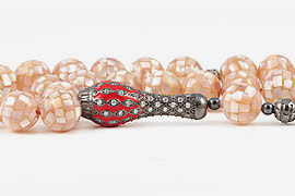 Mother of Pearl Prayer Beads
