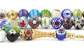 Murano Glass Prayer Beads