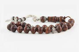 Snakewood Worry Beads