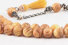 Spruce Tree Prayer Beads