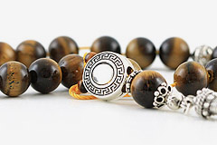 Tiger's Eye Worry Beads