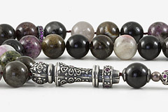 Tourmaline Prayer Beads