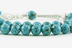 Turquoise Prayer Beads