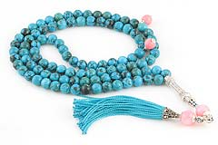 Turquoise Prayer Beads (99 Beads)