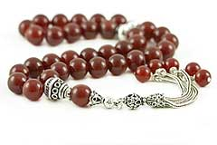 Agate (Carnelian) Prayer Beads