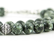 Green Charoite Prayer Beads
