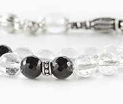 Quartz Crystal Prayer Beads