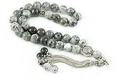 Rutilated Quartz Prayer Beads