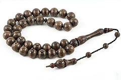 Wenge Wood Prayer Beads