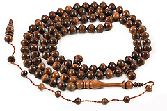 Guayacan Tree Prayer Beads (99)