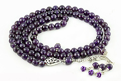Amethyst Prayer Beads (99)