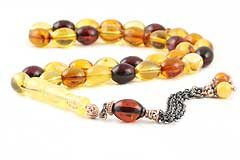 Baltic Fire Amber Prayer Beads