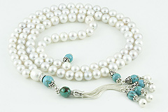 Pearl Prayer Beads (99 Beads)