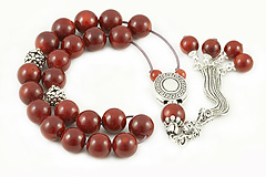 Coral Worry Beads