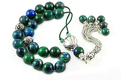 Chrysocolla Worry Beads