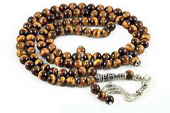 Tiger's Eye Prayer Beads (99)