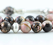 Rhodonite Prayer Beads