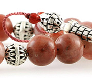 Bloodstone Worry Beads