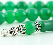 Green Agate Prayer Beads