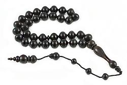 Ebony Tree Prayer Beads