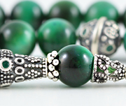 Green Tiger's Eye Worry Beads