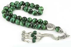 Green Tiger's Eye Prayer Beads