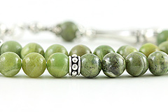 Green Kyanite Prayer Beads