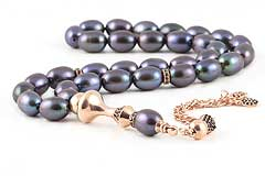 Black Pearl Prayer Beads