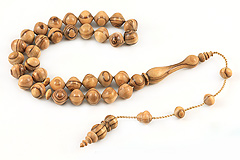 Aegean Olive Tree Prayer Beads