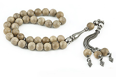 Asian Nanmu Tree Prayer Beads