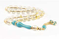 Lemon Topaz Prayer Beads