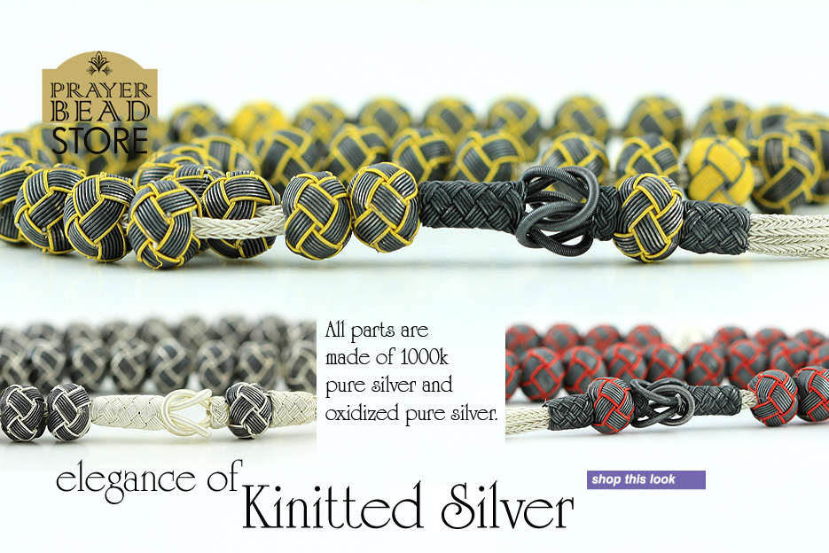 Elegance of Knitted Silver
